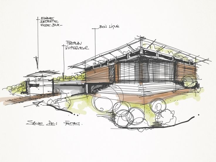 Architecture House Sketch madebamboo paper | sketches and renders | pinterest | sketches