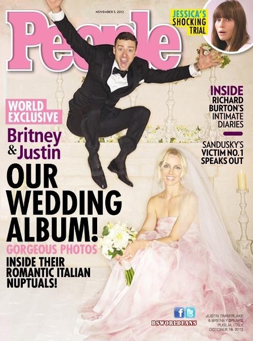 Britney Spears & Justin Timberlake married