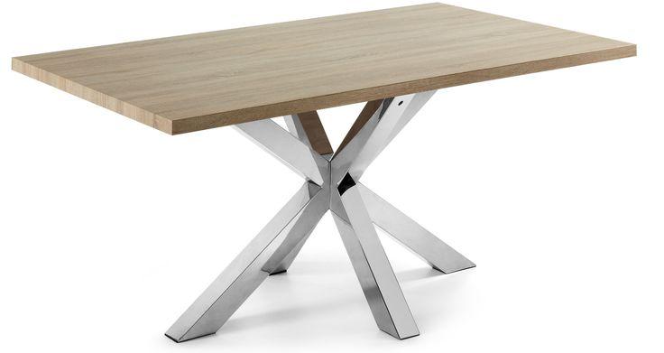 Arya tafel 180x100 - bruin - Kave