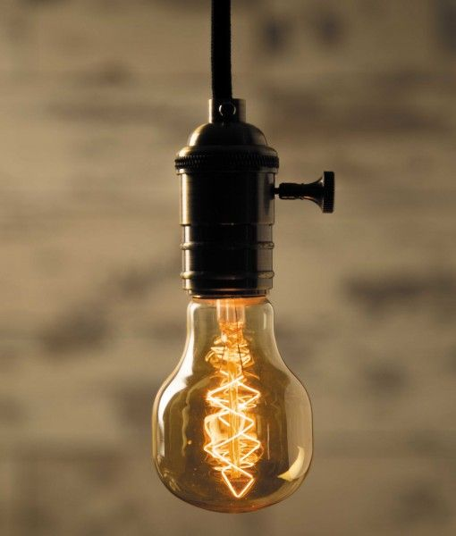 William & Watson - Skull - Vintage Bulb