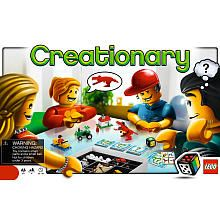 LEGO Games Creationary - Colton Looks like a cute game. Players have to build something out of Lego and the other players guess what it is.