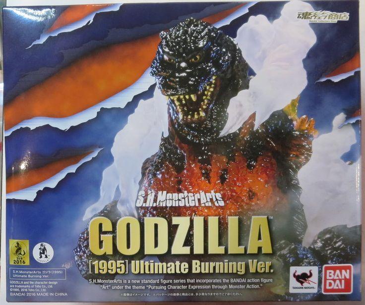 Mandarake mail order | Bandai SH Monster Arts Godzilla 1995 Ultimate Burning Ver