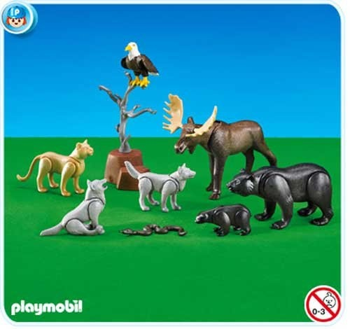 Playmobil North American Forest Animals