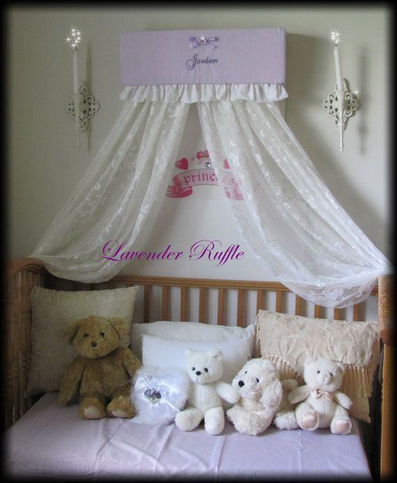 Princess Bed Canopy Girl Crown Pelmet Upholstered Awning: 1000+ Images About Bed Canopies On Pinterest