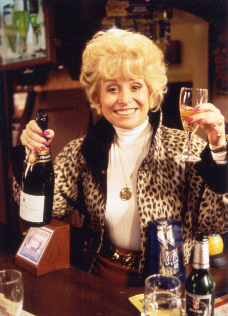 Peggy Mitchell, EastEnders Get outta my pub!!