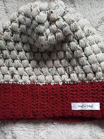 $15 puff stitch beanies