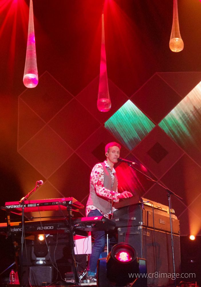 Mike Lindup of Level 42 by neilstha firman