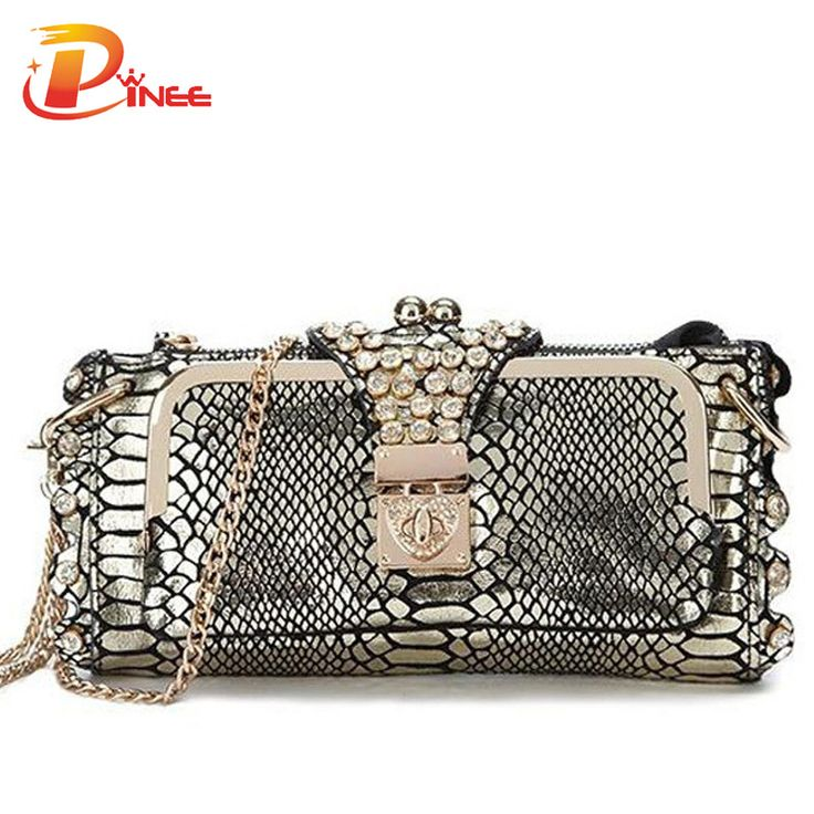 Ladies' clutch in khaki (also available in black), $25 | Aliexpress.com