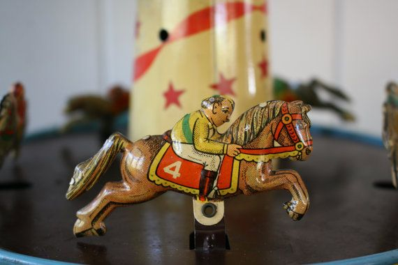 Rare Wolverine No.30 Merry-Go-Round Tin Racing by FoundByHer