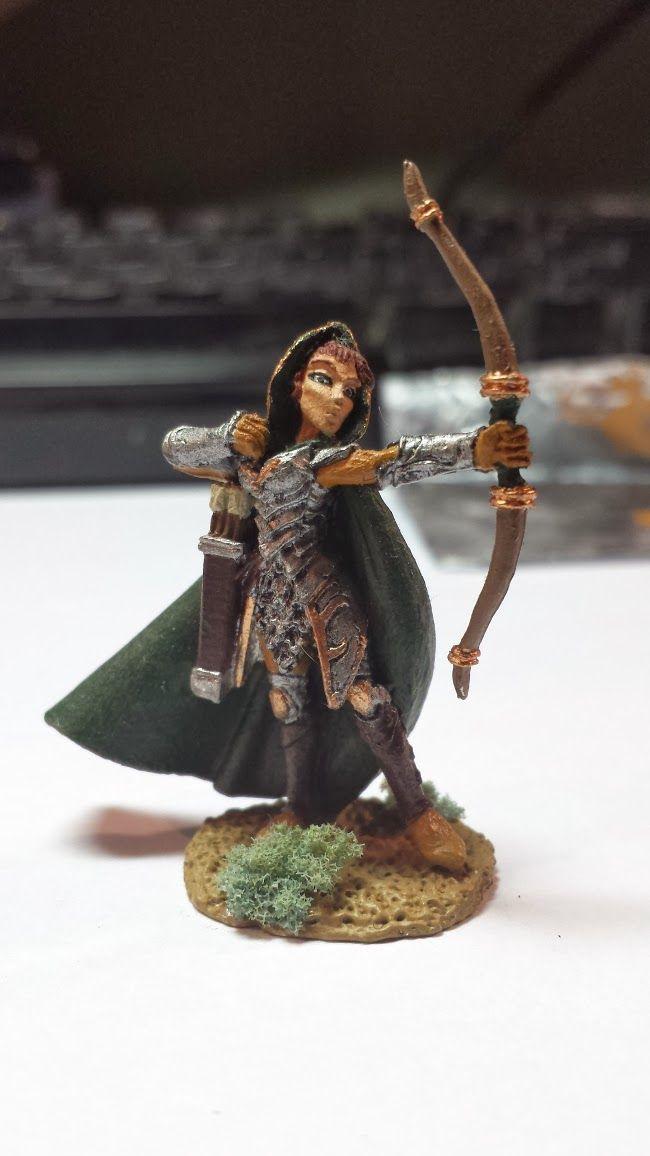 Jade Gaming News: Player Character Elf Ranger