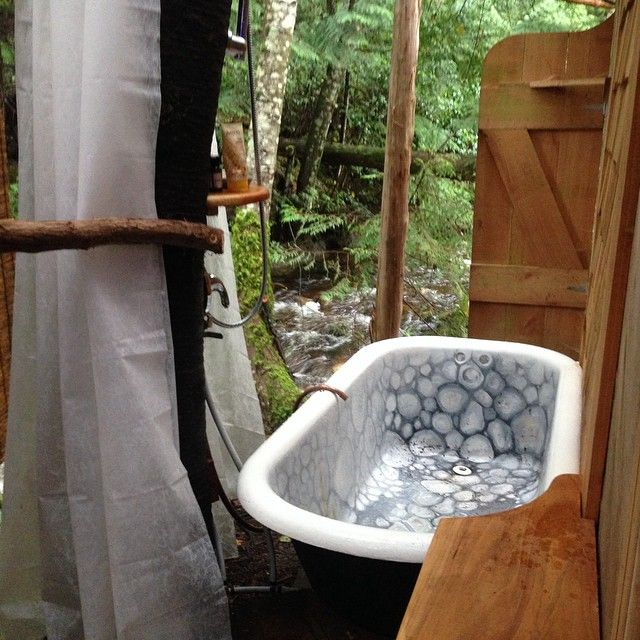 17 Best Images About Outdoor Tubs On Pinterest Soaking