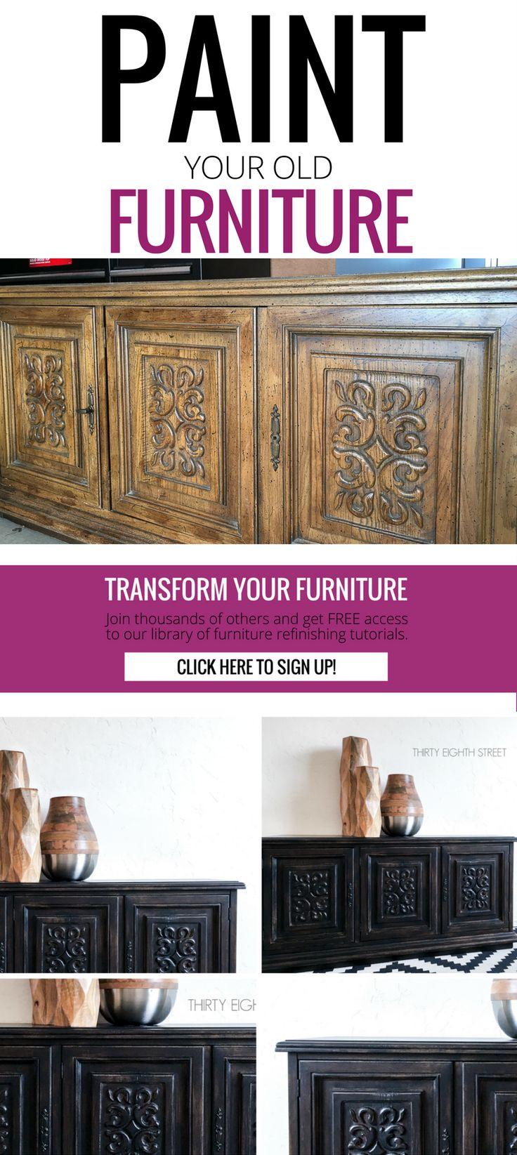 25 best ideas about old furniture on pinterest. Black Bedroom Furniture Sets. Home Design Ideas