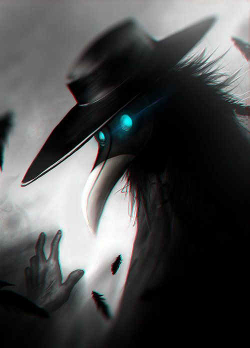 Plague doctor appreciation post! Also with SCP 049 'cause he's hella cool too…