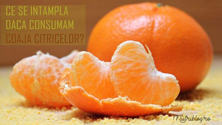 Ce se intampla daca mancam coaja citricelor? - Nutriblog