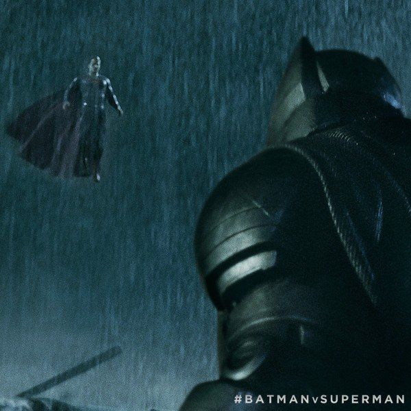 Still of Ben Affleck and Henry Cavill in Batman v Superman: Dawn of Justice (2016)