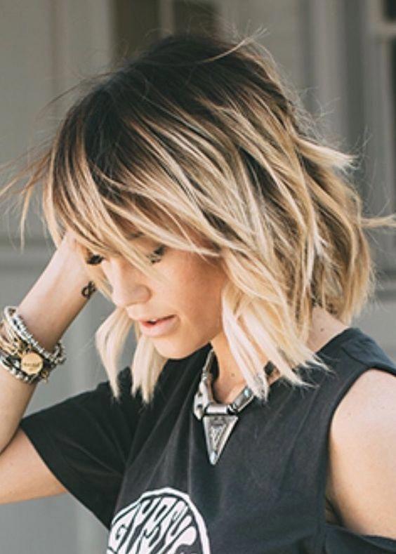 Modern Medium Hairstyles for Thin Fine Hair – Page 12 of 27 – #Fine #Hair #hairs…