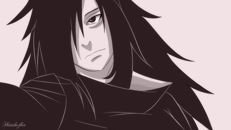 Just a random drawing of Madara.