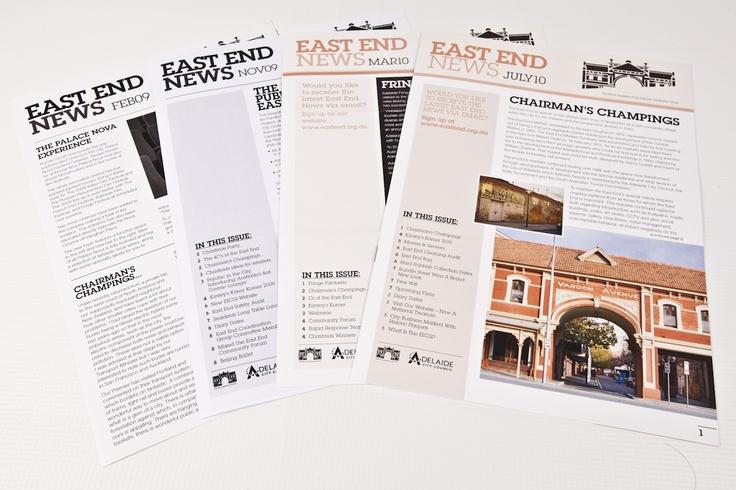 Adelaide East End Newsletter « Algo Más Marketing