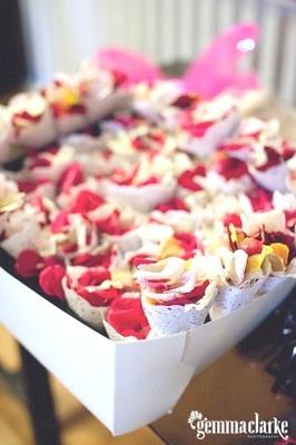Rose Petal Doiles