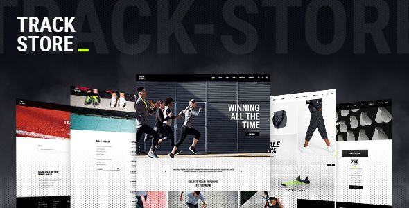 #TrackStore - An Urban Sportswear Shop - #WooCommerce #eCommerce