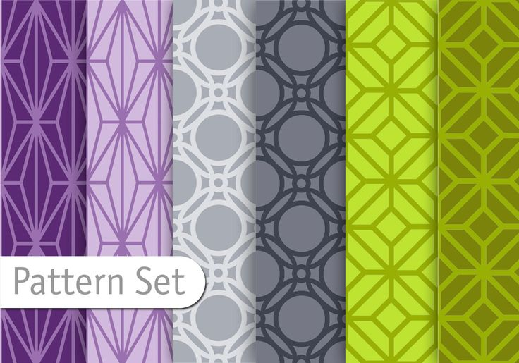 Orient Geometric Pattern Set