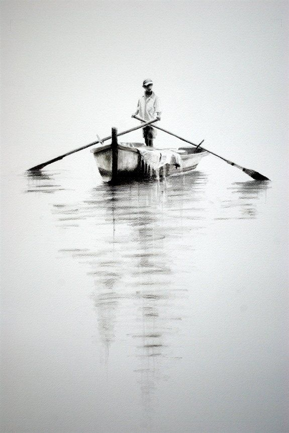 easy charcoal drawings - Google Search
