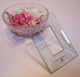 Beveled Paintable Clear Low Iron Glass Switchplates In Many Configurations  For Your Glass Splashes Or Anywhe.