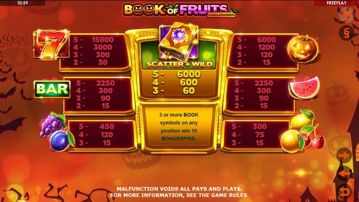 Scary Fruits Slot Machine