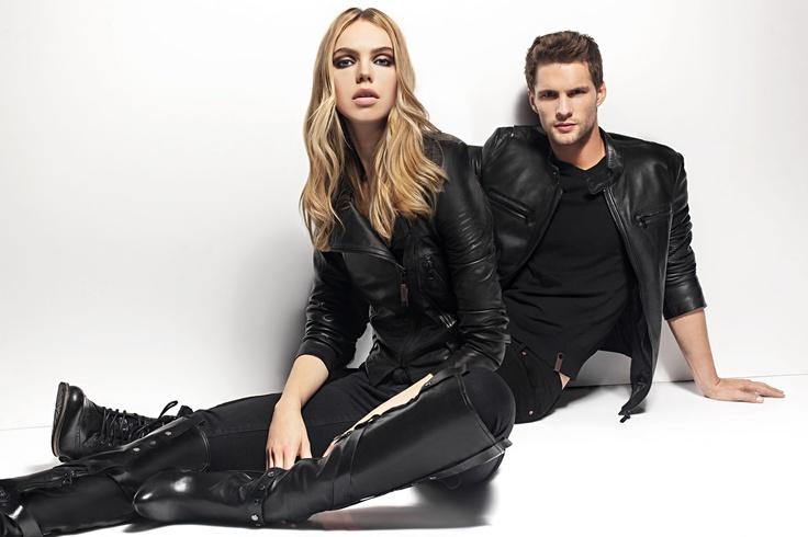 Women's Gemma Leather Perfecto