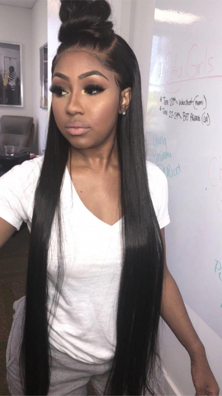 hair straightening options | long straightened hair | prom