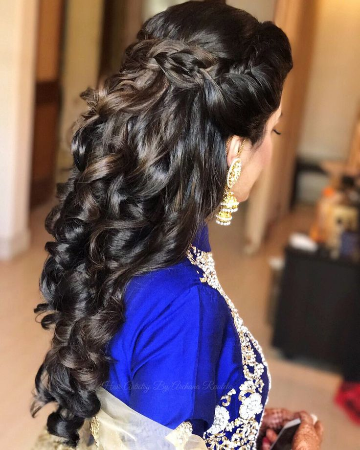 Indian Party Hairstyles