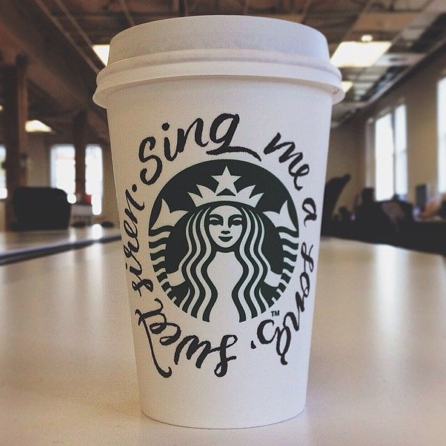 """""""Sing me a song, sweet siren"""" by Marla Moore. #WhiteCupContest"""