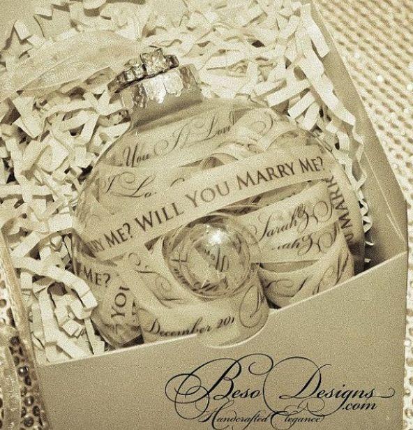 56 Best Christmas Wedding Proposals Images On Pinterest Proposals
