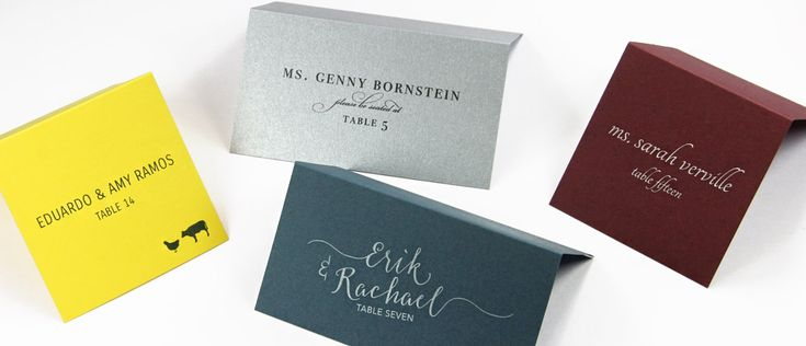Order wedding place cards seating cards blank or printed from lcipaper com
