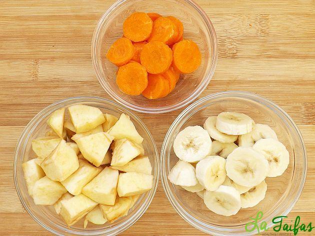 Smoothie de Banană, Morcov și Măr