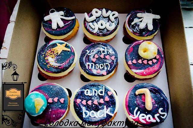 Не заказ - а космос!✨🌍🚀❤ P.S Люблю когда клиент с фантазией #cupcake #eclair #choux #happyday #cookies#icedcookies #space #stars #vanila #patiserie #chocolate #strawberry #капкейки #эклер#деткатыпростокосмос#печенько #мыкосмонавты #звезды #капкейкиодесса #пряникиназаказодесса #любофф #вишня #шоколад #расписныепряникиодесса #пряникиодесса#капкейкиназаказодесса #эклерыназаказ #Одесса #солодкамануфактура