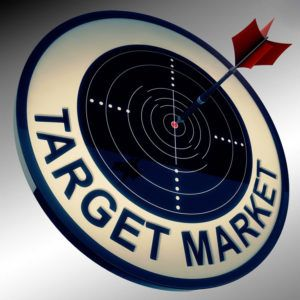 Search engine optimization works as a form of target marketing. The process of market definition is performed in second by Google's algorithm.