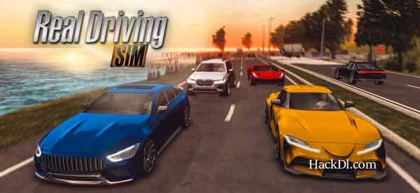 Real Driving Sim Mod Apk 4 5 Hack Unlimited Money Data Hackdl Sims Mods Sims Driving