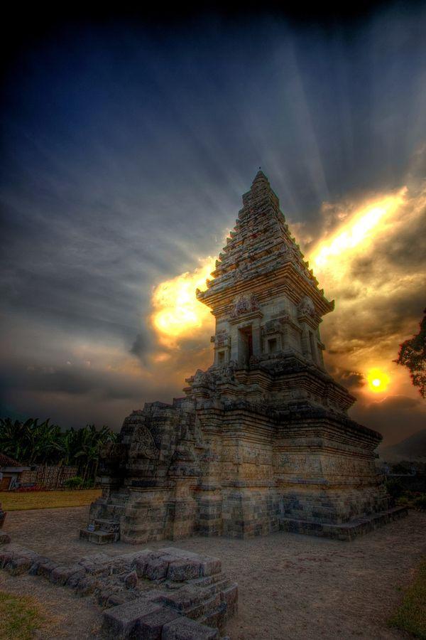 Candi Jawi temple in Pandaan, East Java, Indonesia.
