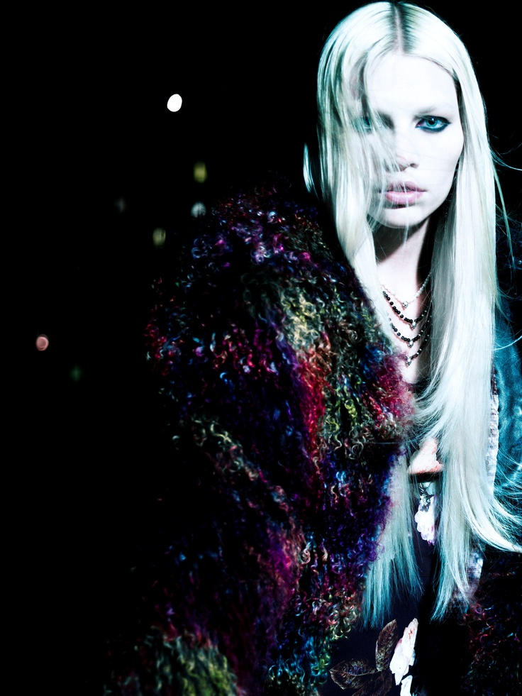 Sister Of The Night | Aline Weber | Victor Demarchelier #photography | Wonderland Magazine September/October 2012