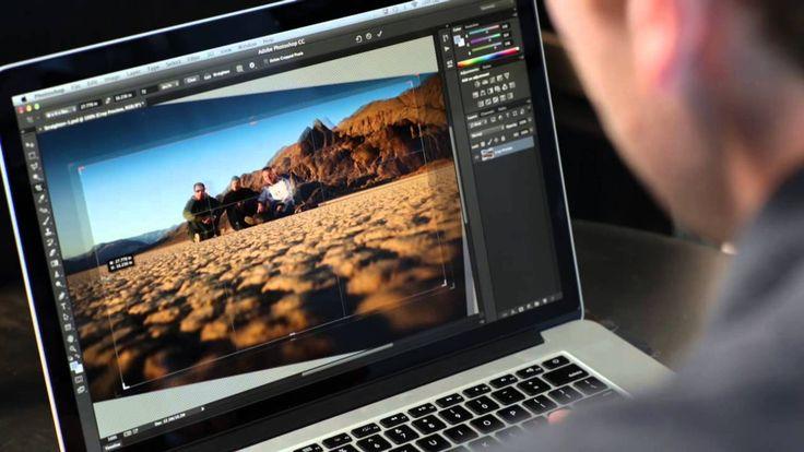 Photoshop Playbook:  Кадрирование Cropping & Straightening Photos