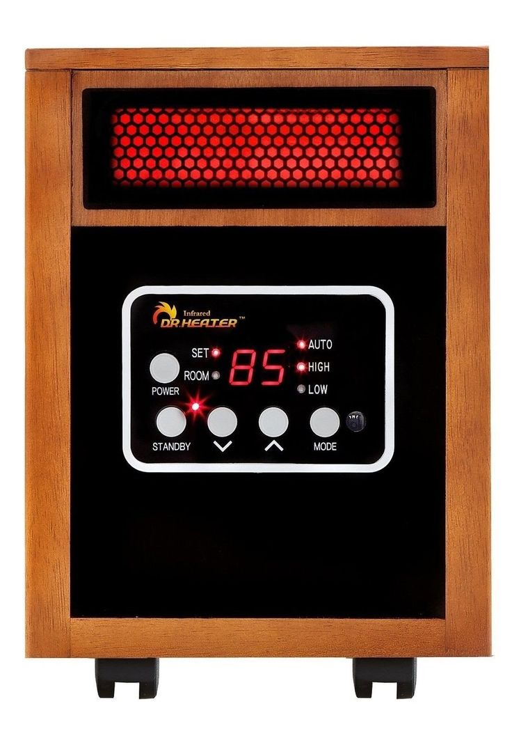 Dr Infrared Heater Portable Space Heater 1500-Watt Dr-968