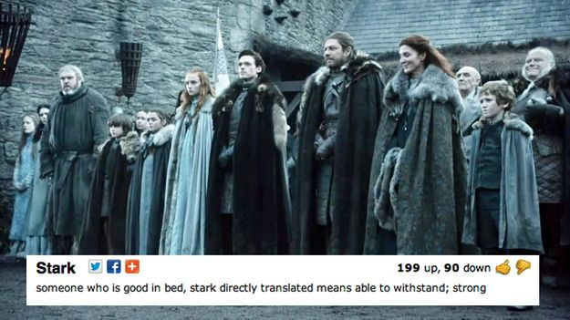 "House Stark - ""Winter Is Coming"" 