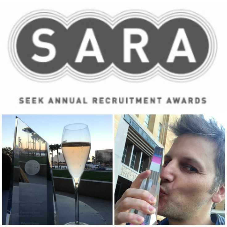 SARA Seek Awards 2013. Polyglot wins best Small Generalist Recruiter of the year!