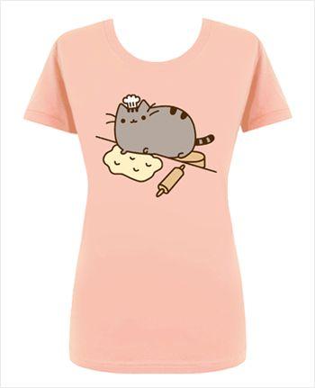 Baker Pusheen T-Shirt - This would be my cake baking t-shirt!!