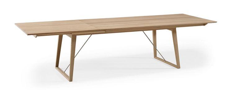Skovby #38 spisebord med patenteret udtræk. Op til 12 siddepladser. | Skovby Møbler
