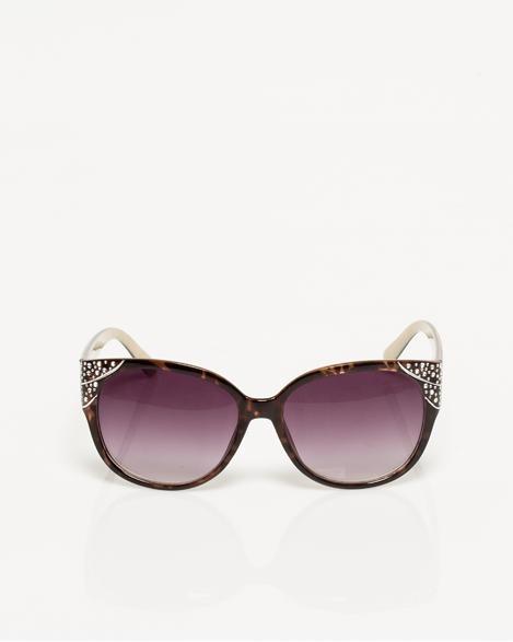 cheap designer handbags michael kors 3fzi  Jewel Encrusted Cat Eye Sunglasses