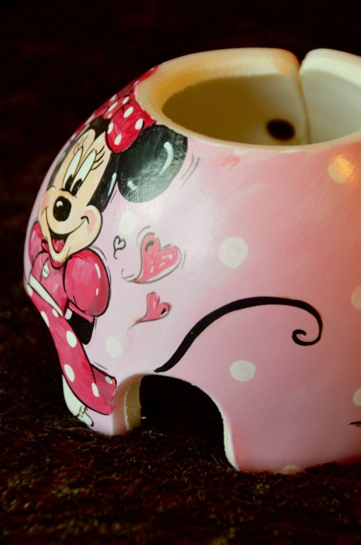 Minnie mouse detail cranial band helmet https www for Baby cranial helmet decoration
