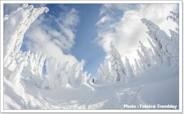 Vallée des Fantômes - Parc des Monts-Valins - Saguenay
