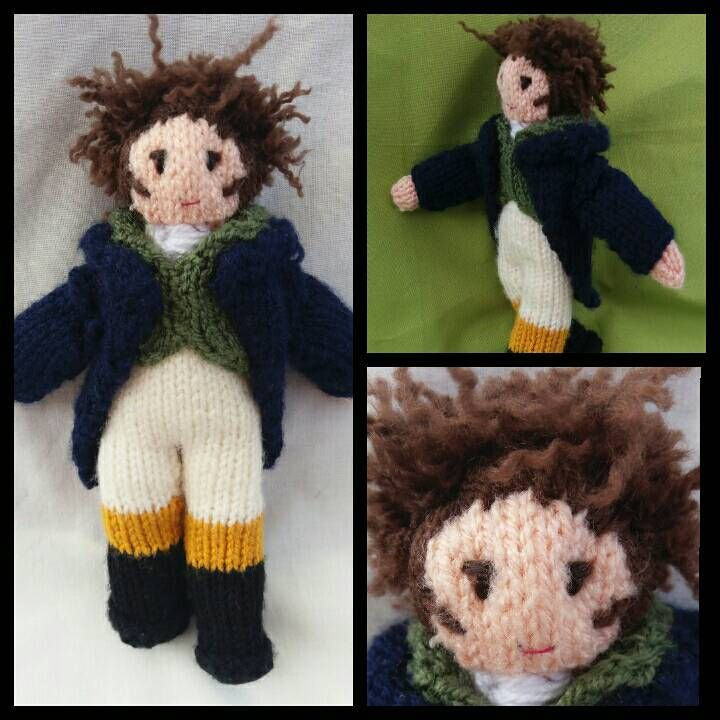 Hand knitted MR DARCY soft toy/doll, Pride & Prejudice, Jane AUSTEN gift/present idea, Christmas, birthday, made to order by KwerkyKnits on Etsy